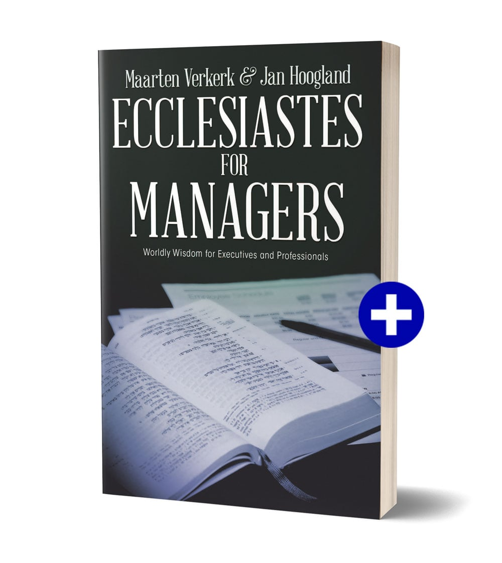 Kaft boek 'Ecclesiastes for Managers'