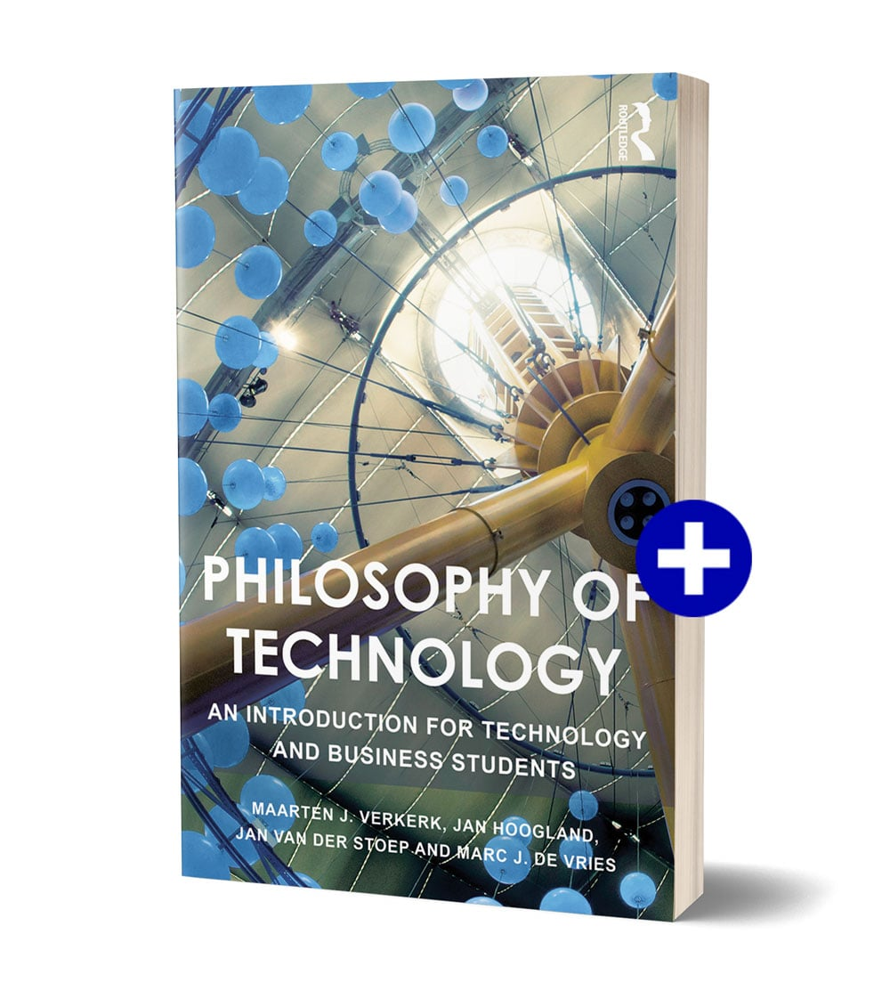 Book cover 'Philosophy of Technology'
